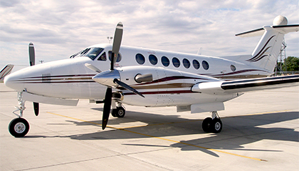 Beech King Air 350 Aircraft