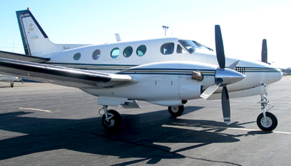 Beech King Air C90A Aircraft