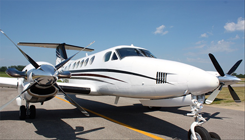 1979 King Air-200 exterior front