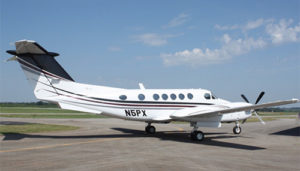 1979 King Air-200 exterior side