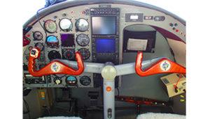grumman G44A widgeon cockpit