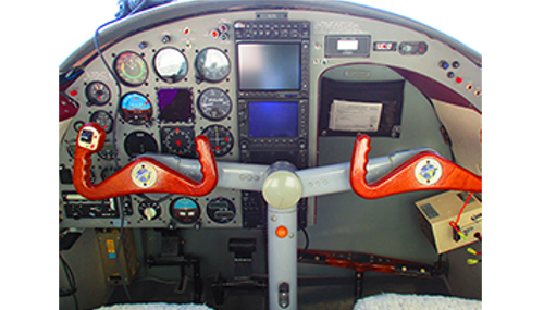 grumman G44A widgeon cockpit