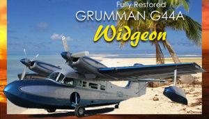 Grumman G44A widgeon exterior