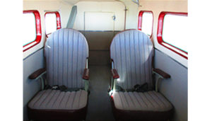 grumman G44A widgeon seats