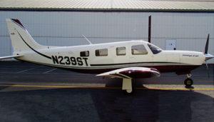 Piper Saratoga HP II exterior