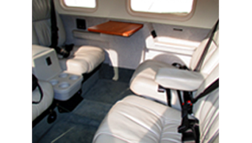 Piper Saratoga HP II interior