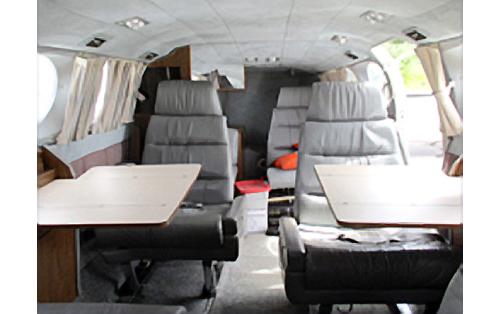 1973 Cessna leather seats