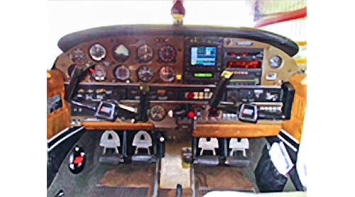 1979 Piper Archer controls