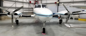Cessna 421B front