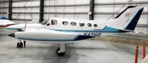Cessna 421B side