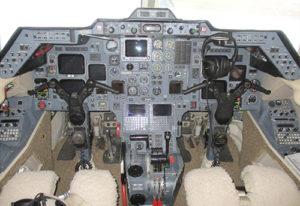 HawkerJet 125 800A cockpit