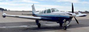 N42LH AIRCRAFT exterior on runway