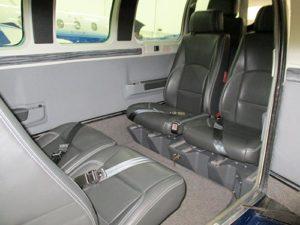 N42LH AIRCRAFT interior seating