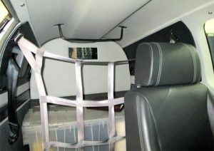 N42LH AIRCRAFT interior back view